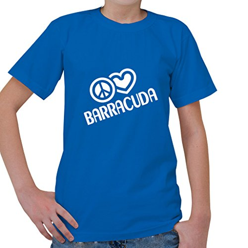 peace-love-barracuda-fish-fishing-kids-short-sleeve-t-shirt