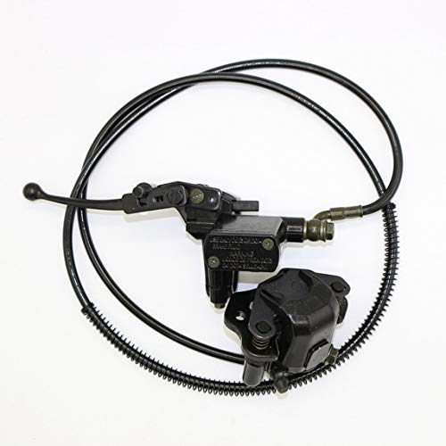 Zinniaya Atv Brake Master Cylinder Left Lever Assembly Fit 50 70 90 110 125 150cc: