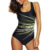 Vegatos Women's Sport One Piece Swimsuit Racerback Athletic Bathing Suit Pro Swimwear