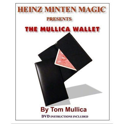 Mullica Wallet (with DVD) by Heinz Minten & Tom Mullica - Trick