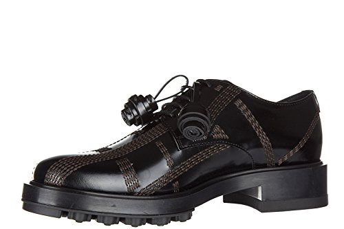 Formal Tod's up Laced Derby Shoes allacciata Classic Leather Women's lace impunt 4IrZwxYqI
