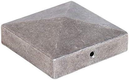 Tapas para postes PYRAMIDE de aluminio Dimensiones elegibles