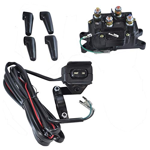 Winch Wiring Atv (Winch Relay Solenoid Switch For Bombardier Can-Am up to 4500 lbs)