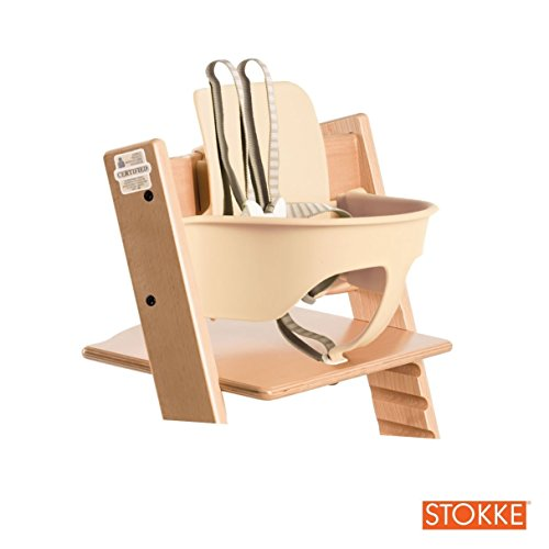 Stokke tripp trapp high chair natural baby for Tripp trapp stokke amazon