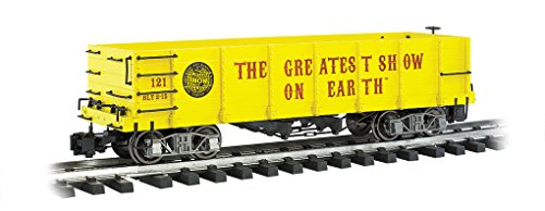 Train Rolling Stock Ringling Bros. and Barnum & Bailey Gondola #121 Large Scale -