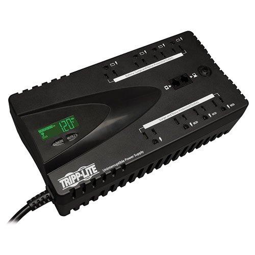 650VA 325W UPS Eco Green Battery Back Up LCD 120V USB RJ11 T