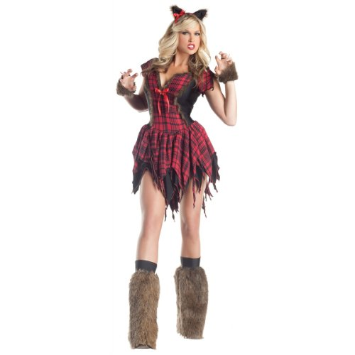 Werewolf Costume - Medium - Dress Size (Sexy Werewolf Costume)