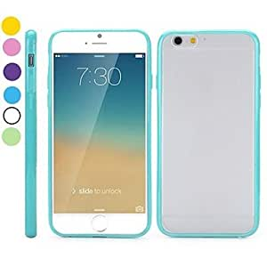 ZCL Transparent Frosted PC and TPU Hybrid Hard Cover for iPhone 6(Assorted Colors) , White