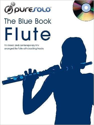 Pure Solo Blue Book Flute Cd
