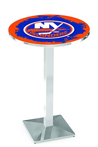 Holland Bar Stool L217 NHL New York Islanders Officially Licensed Pub Table, 28