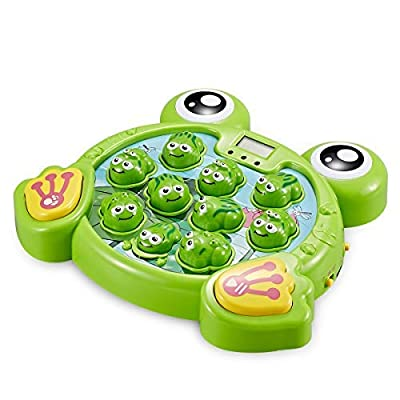 Interactive Whack A Frog TG702 - Fun Gift For Boys & Girls Of Age 3 4 5 6 7 8, Learning, Active, Early Developmental STEM Pounding Toy For Toddlers: Toys & Games