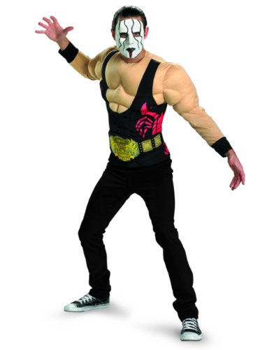 adult sting wrestling halloween costume