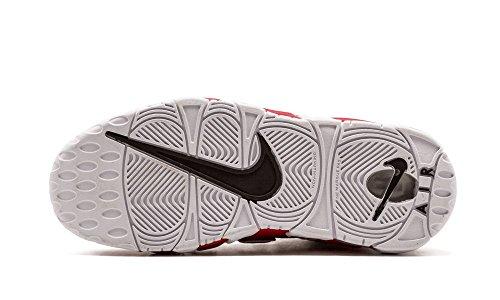 Nike Kids Air Mehr Uptempo GS, Schwarz / Weiß - Schwarz Schwarz