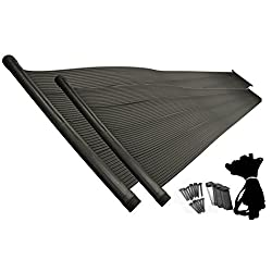 Sun2Solar Mounted Heating Solar Panel System for Above-Ground and In-Ground Swimming Pools (4' x 20' Add-On Panels with Roof Mounting Strap Kit)