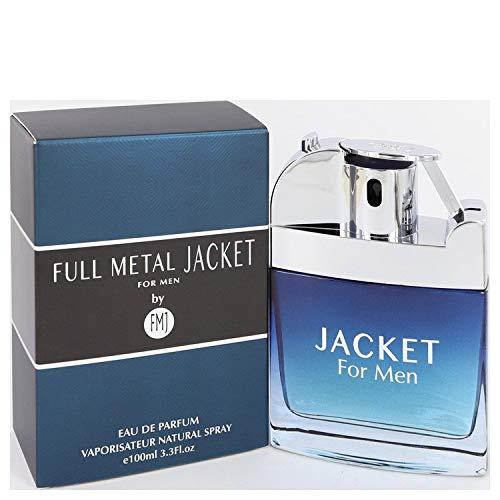 Full Metal Jacket Jacket Cologne for Men 3.3 Oz /100 Ml Eau De Toilette Spray by Fmj Parfums