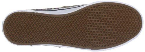 Vans Authentic Lo Pro Womens 11 / Menns 9.5 Multi Stripe Sanne Hvite Sko