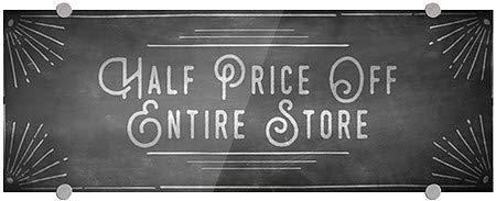 Half Price Off Entire Store CGSignLab Basic Black Premium Acrylic Sign 27x18