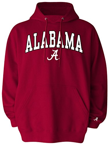 NCAA Alabama Crimson Tide Pullover Hood, XX-Large, Crimson (Alabama Crimson Tide Applique)