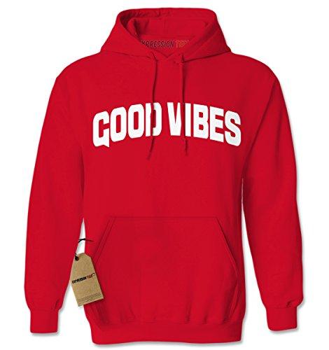 Hoodie Good Vibes Adult X-Large (Good Vibes Hoodie)