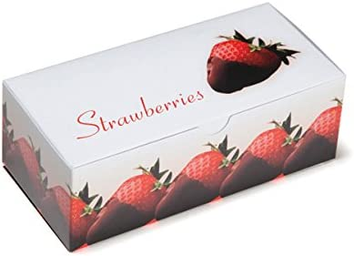 Chocolate Covered Strawberry Boxes Medium By Tap Pack Of 50 Medium Strawberry Strawberry Amazon Co Uk Kitchen Home