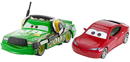 Disney Pixar Cars Chick Hicks & Natalie Vehicles, 2 Pack