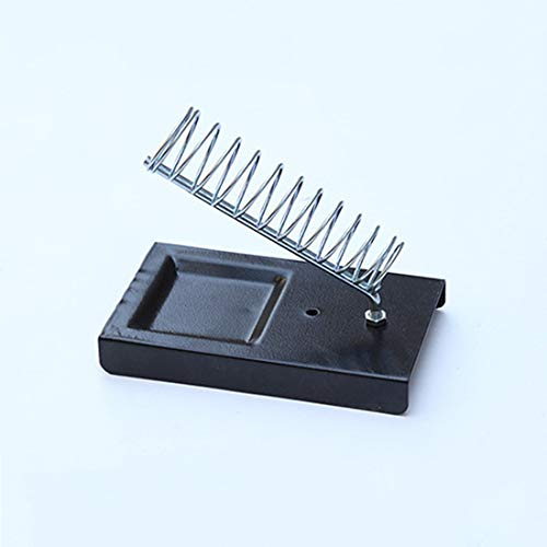 1 piece Top Soldering Iron Support Stand Station Metal Base Rectangle Stand Holder Base Support Station Safety Protecting Base