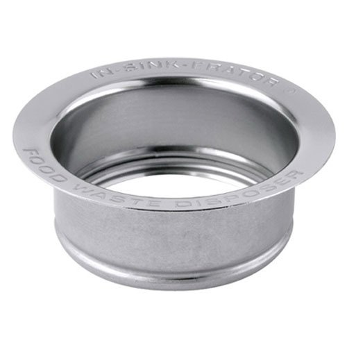 InSinkErator FLG-SS Sink Flange, Stainless (Disposer Flange Replacement)