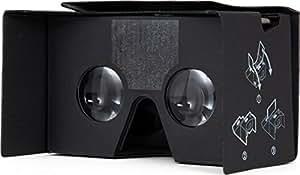 Case-Mate Universal 3D de Realidad Virtual Visor de Diapositivas v2,0 Google - de cartón Negro