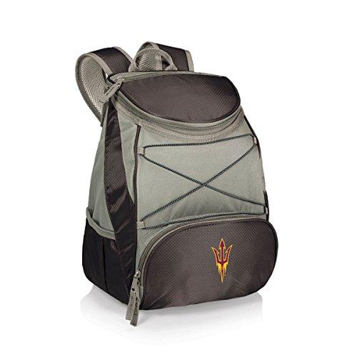 State Picnic Backpack (NCAA Arizona State Sun Devils PTX Insulated Backpack Cooler, Black, Regular)