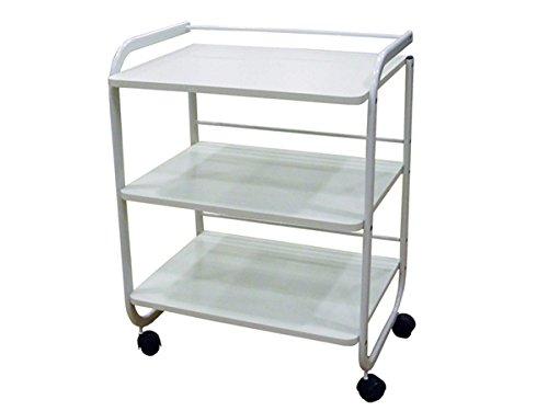 Aesthetic Cart Office Cart (60x43x82cm, White) EDELWEISS BEAUTY