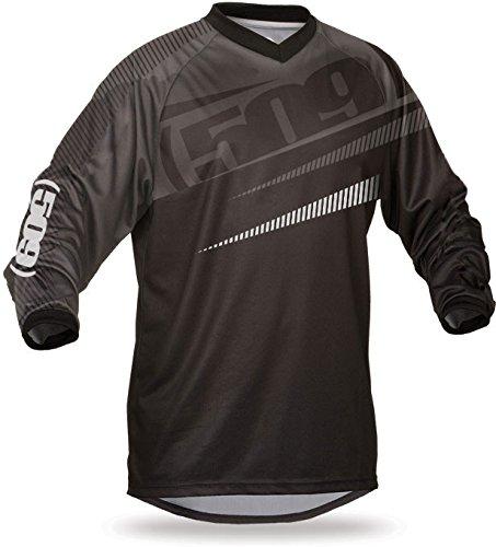 (509 Windproof Snowmobile Jersey (2XL, Stealth))