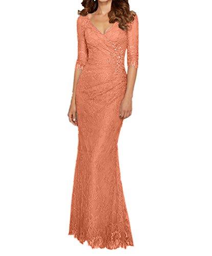 Figurbetont Neu Abschlussballkleider Langes La Elfenbein 2018 mia Abendkleider Etuikleider Bodenlang Orange Ballkleider Braut 1xY4P0Ywq