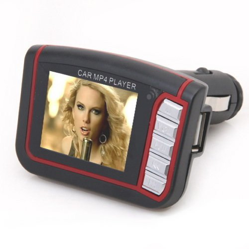 18-LCD-Car-Mp3-Mp4-Player-Wireless-Fm-Transmitter-Sd-MMC-Remote-Black