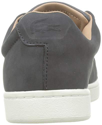 Lacoste Herren Carnaby Evo Easy 319 1 SMA Sneaker, Schwarz (Black/Offwhite 454), 43 EU 3