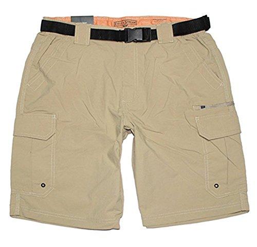 Field & Stream Men's Lightweight Trail Shorts, Mountain Khaki, Large