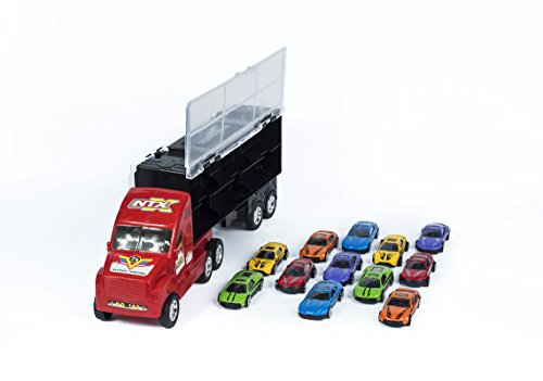 15-Big-Rig-Car-Carrier-Transport-Truck-Toy-For-Boys-With-12-Metal-Cars