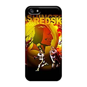 Fashion Tpu Case For Iphone 5/5s- Washington Redskins Defender Case Cover