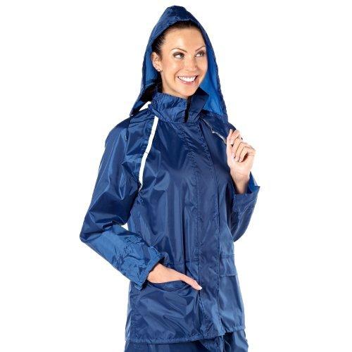 2046 para mujer chaqueta impermeable para hombre ProClimate Azul