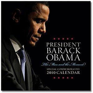 President Barack Obama 2010 Wall Calendar