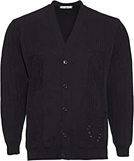 Men/'s Knitted Cardigans V Neck Classic Style Cardigan ACRYLIC S to 6XL big sizes