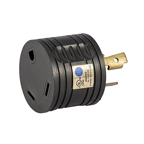Atima RV 30 AMP 3-Prong Generator Adapter Connector Camping Caravan Motorhome TrailerAT-RV30P