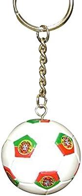 Amazon.com: Portugal Soccer Futbol Balón de fútbol Keychains ...