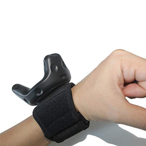Stand Strap Compatible Tracker Adjustable Wristband For VR Trackers, Mounting Brackets And Assistive Tools - More Fun VR Games ()