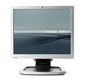 "HP L1750 Flat Panel - Monitor (431.8 mm (17 ""), 5 ms, 300 cd / m², No audio included at platform level, Plata, Kensington)"
