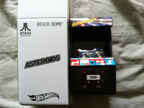 Hot Wheels 2013 Mattel SDCC Beach Bomb ASTEROIDS / New & Sealed - Rare Find!