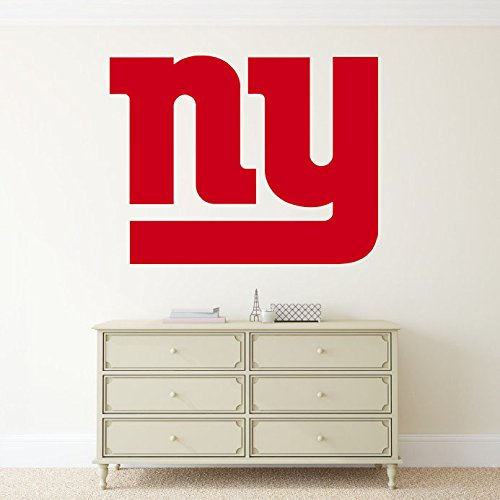 New York Giants Vinyl Decal NFL Emblem Sticker Wall Logo Sport Home Interior Removable Decor (22