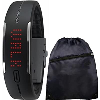 Polar Loop Activity Tracker with Cinch Bag - Black