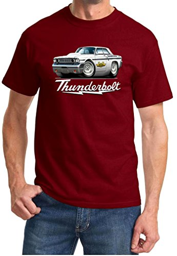 Maddmax Car Art 1964 Ford Fairlane Thunderbolt Hardtop for sale  Delivered anywhere in Canada