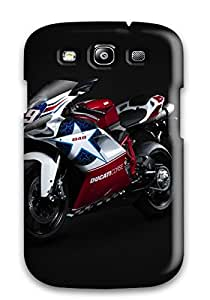 Tpu Case For Galaxy S3 With Bikes 038 Motorcycles Ducati 848 Bike