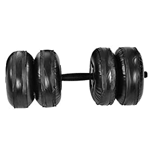 Amazon.com: Qioni - Juego de mancuernas ajustables de PVC ...